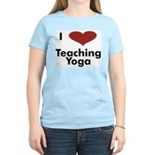 - I Heart Teaching Yoga T-Shirt