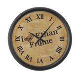 i-love-ethan-frome_cl.jpg Large Wall Clock