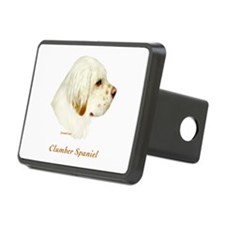 Clumber Spaniel Hitch Cover