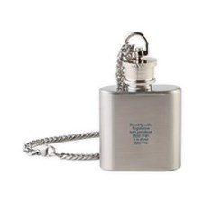 Your Dog BSL Flask Necklace