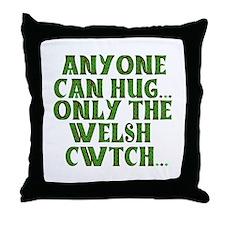 Hug & Cwtch Throw Pillow