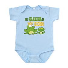 Frog King Grandpa Infant Bodysuit