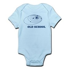 Old School Solar System Infant Bodysuit