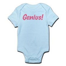 Pink Genius Infant Bodysuit