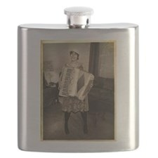 Retro Accordion Flask