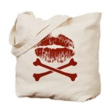 kiss-and-crossbones.png Tote Bag