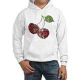 plaid-cherries-retro.png Jumper Hoodie