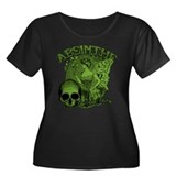 absinthe-collage.png Women's Plus Size Scoop Neck