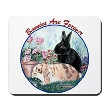 Bunnies R Forever CT Mousepad