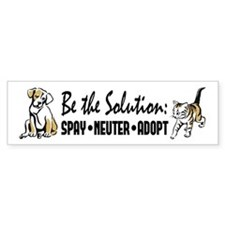 Spay Neuter Adopt Bumper Sticker