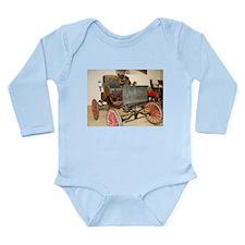 1895 Carriage Long Sleeve Infant Bodysuit