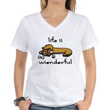 Wiener Tales Life Is Wienderful T-Shirt