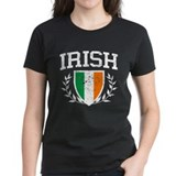 IRISH Crest - Distressed Design Tee