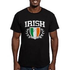 IRISH Crest - Distressed Design T