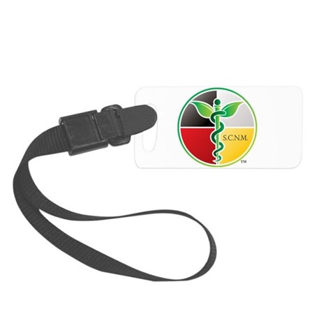 SCNM Medicine Wheel Logo Small Luggage Tag