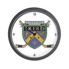 Unique Fighting irish Wall Clock