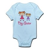 Big Sister with Little Sister Infant Bodysuit