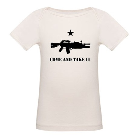 Come and Take It Organic Baby T-Shirt