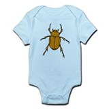 Brown Beetle Onesie