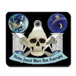 Masonic Virtus Junxit Mors Non Seperabit Mousepad