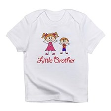 Little Brother with Big Sister Infant T-Shirt