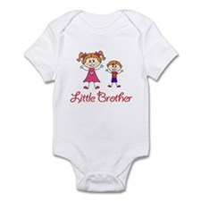 Little Brother with Big Sister Infant Bodysuit