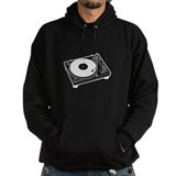 Turntable (dark shirt)  Hoodie