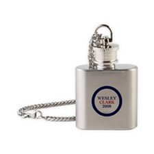 Wesley Clark 2008 Flask Necklace