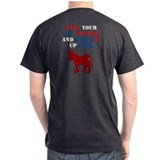 Take your gun control and shove it Dbl Sd T-Shirt