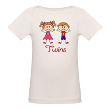 Fraternal Twins Brother and Sister Tee