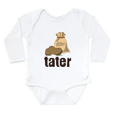 Tater Long Sleeve Infant Bodysuit