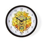 """LionOfZion-Crowned, 10"""" Plastic Ethio Clock"""