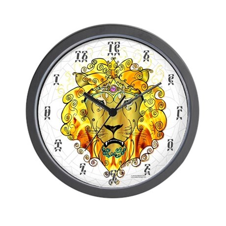 ZION Clock with Ethiopic Numbers - 10 in plastic!