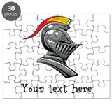 Customizable Knights Helmet Puzzle