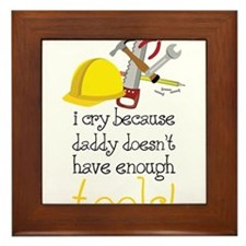 Enough Tools Framed Tile