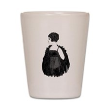 1920 Flapper Corset Shot Glass