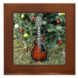 Gibson Mandolin Under The Tree Framed Tile
