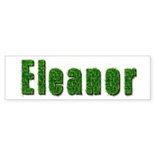 Eleanor Grass Bumper Bumper Sticker