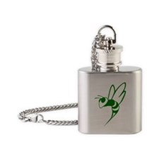 Cute Old time radio Flask Necklace