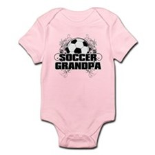 Soccer Grandpa (cross).png Infant Bodysuit