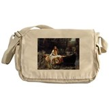 lady-shalott_9x12.png Messenger Bag