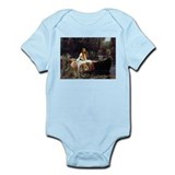 lady-shalott_9x12.png Infant Bodysuit