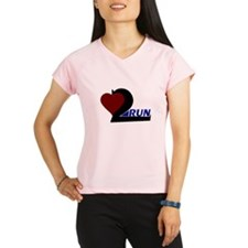 Heart 2 Run Performance Dry T-Shirt