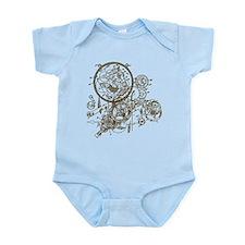 Clockwork Collage Infant Bodysuit