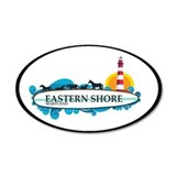 Eastern Shore MD - Surf Design. Wall Decal