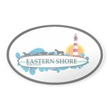 Eastern Shore MD - Surf Design. Decal