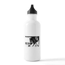 nose work german shepard dog Water Bottle