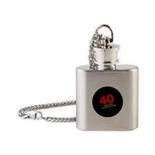40 Better Than Two 20s Flask Necklace