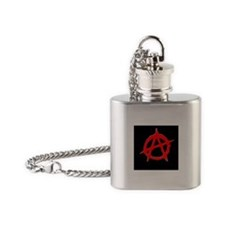 Anarchy Flask Necklace