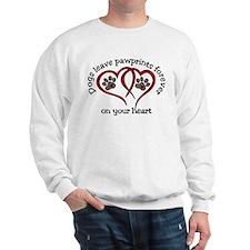 Pawprints Sweatshirt